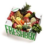 Gemüse-Früchte Box
