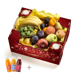 Yellow Box avec Jus de fruits CH