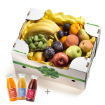 Yellow Box with CH fruit juices